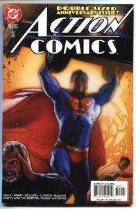 ACTION COMICS #800 comic book Drew Struzan homage to Action #1