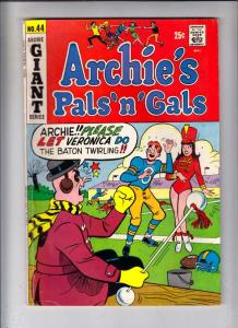 Archie's Pals 'n' Gals #44 (Feb-68) VG/FN Mid-Grade Archie, Betty, Veronica, ...