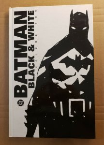 BATMAN BLACK & WHITE VOLUME TWO HARD COVER GRAPHIC NOVEL USED