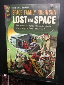 Space Family Robinson #20 (1967) High-grade Knights in armor key! VF Wow!