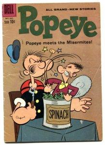 Popeye #55 1960- Dell silver age comic VG-