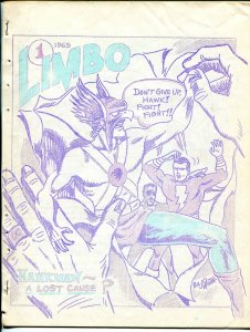 Komix Illustrated #10 1963-Biljo White-Limbo #1 Special Edition-Capt Marvel-VG-