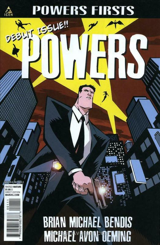 Powers #1 (2nd) VF/NM; Image | save on shipping - details inside
