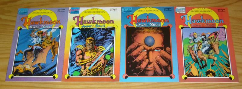 Michael Moorcock's Hawkmoon: Jewel in the Skull #1-4 VF/NM complete series 2 3