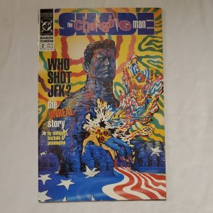 Shade the Changing Man 2 Very Fine/Near Mint Painted cover by Brendan McCarthy