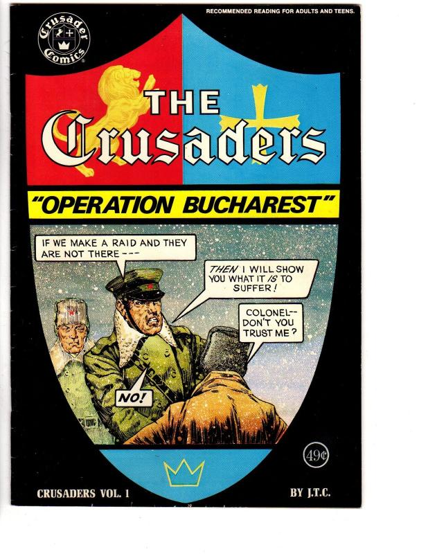 CRUSADERS 1 VG+ (OPERATION BUCHAREST-49 CENT CVR)