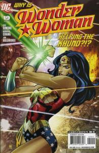 Wonder Woman (3rd Series) #19 VF/NM; DC   save on shipping - details inside