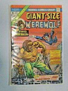 Giant-Size Werewolf Morbius #4 3.0 (1975)