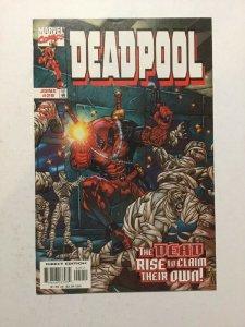 Deadpool 29 NM Near Mint Marvel Comics
