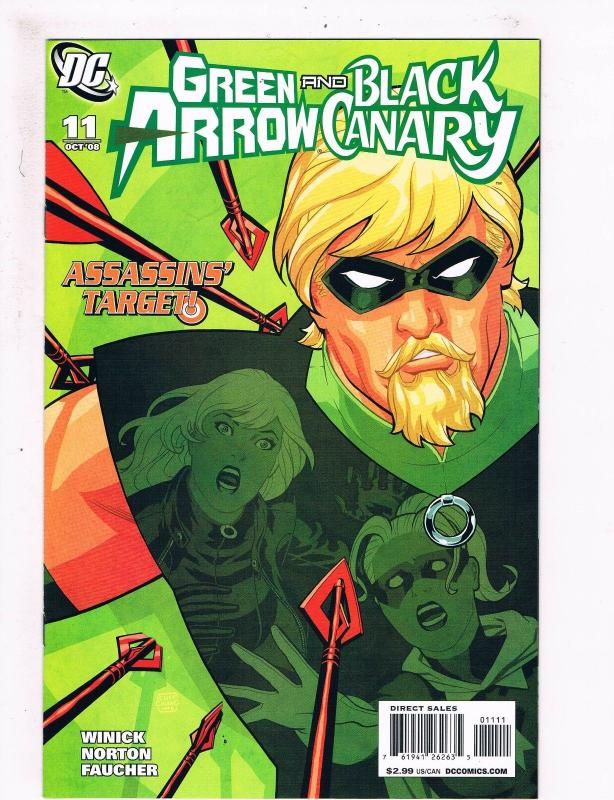 Green Arrow And Black Canary #11 NM 1st Print DC Comic Book CW TV Show Flash S61