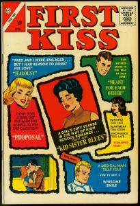 FIRST KISS #31 1963-CHARLTON COMICS-COVER PRICE VARIANT FN