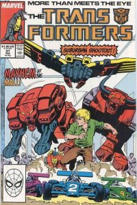 Transformers (1984 series) #37, Fine+ (Stock photo)