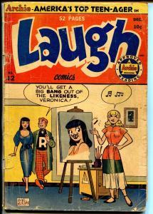 Laugh #42 1950-Archie-Betty-veronica-Bob Montana-Bill Woggon-Katy Keene-G