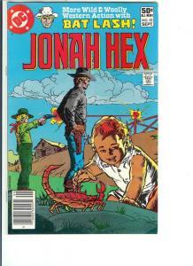 Jonah Hex #52 - Bronze Age - (VF+) Sept., 1981
