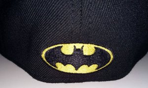 DC Comics Batman 80th Anniversary PX 3930 FlexFit Cap Hat M/L - New!