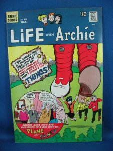 LIFE WITH ARCHIE 35 Fine VF Flying Saucer Story 1965
