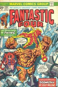 Fantastic Four (1961 series) #146, VF+ (Stock photo)