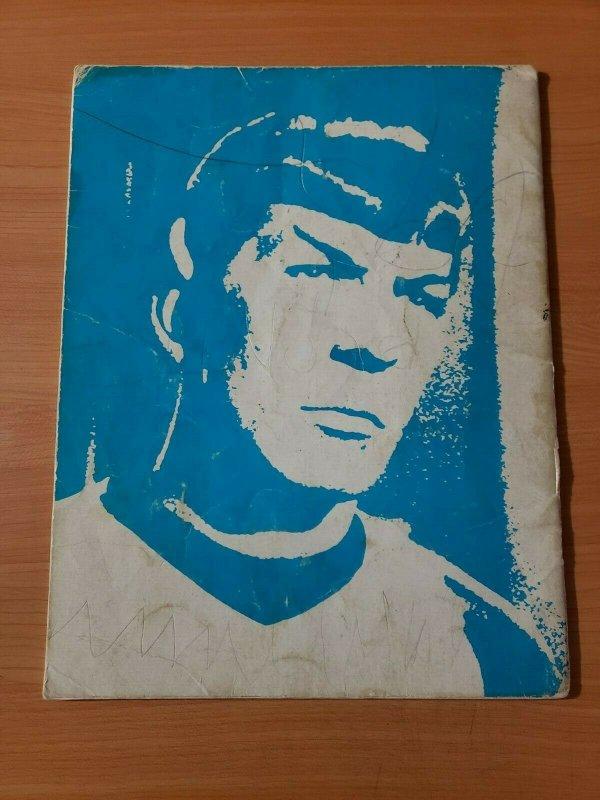 TREK The Magazine for Star Trek Fans #4 Spock Special ~ VERY GOOD VG ~ 1976 RARE