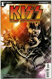 Kiss Blood And Stardust #1 Cvr A (Dynamite, 2018) VF/NM