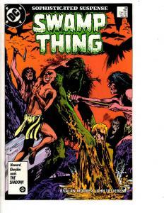 Swamp Thing # 48 NM DC Comic Book Alan Moore Batman Superman Flash Aquaman TD6