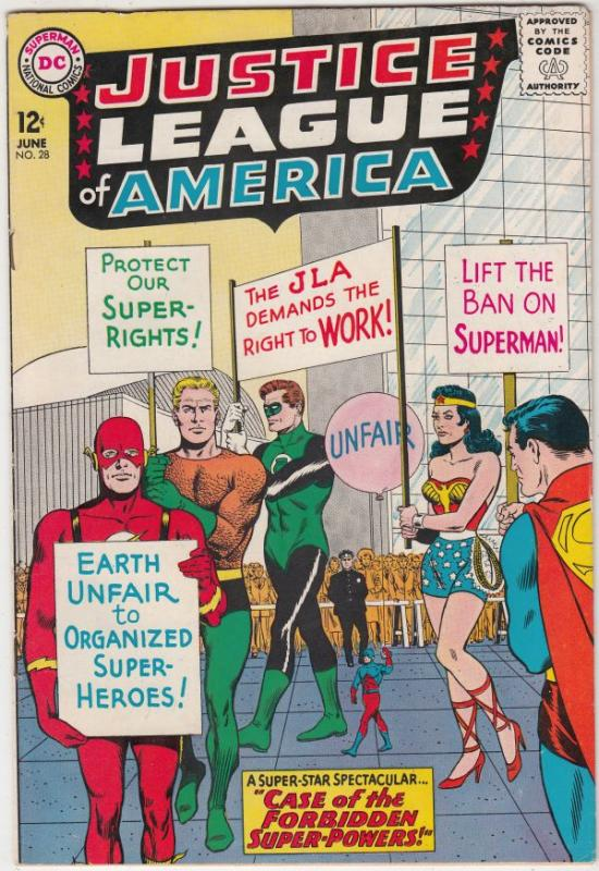 Justice League of America #28 (Jun-64) VF+ High-Grade Justice League of Ameri...