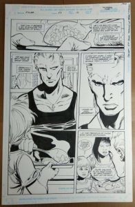 Original Art: Tom Grindberg & Dick Giordano - Solar, Man of the Atom #53 pg 16