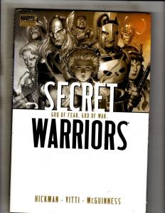 Secret Warriors Vol. # 2 Marvel Comics HARDCOVER Graphic Novel Comic Book J333