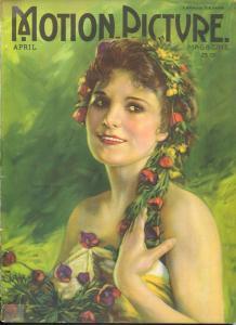 Motion Picture 4/1922-Leatrice Joy-Gloria Swanson-Cecil B. DeMille-G