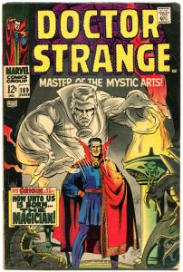 DOCTOR STRANGE #169, VG+, Mystic Arts, Dan Adkins,1968, more DS in store