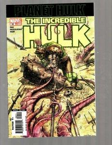 The Incredible Hulk # 92 NM 1st Print Marvel Comic Book Planet Hulk 1st AP RB27