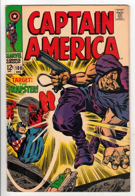 Captain America #108 (Dec-68) VF/NM High-Grade Captain America