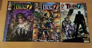 Team 7 Objective: Hell 1-3 Complete Set Run! ~ NEAR MINT NM ~ 1995 Image Comics
