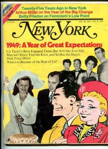 NEW YORK DEC 6 1974-DICK TRACY-vg