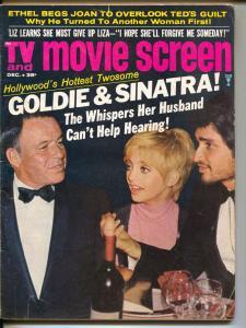 TV Movie Screen-Goldie Hawn-Frank Sinatra-Elvis Presley-Dec-1969