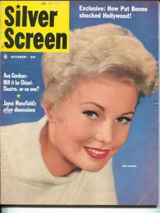 Silver Screen-Kim Novak-Jayne Mansfield-John Wayne-Oct-1957