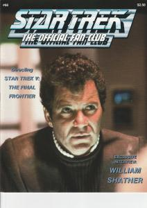 Star Trek Official Fan Club Magazine #68