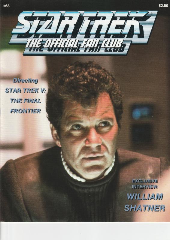 Star Trek Official Fan Club Magazine #68