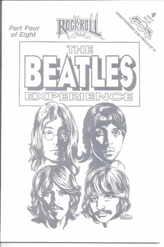 THE BEATLE'S EXPERIENCE # 4 of EIGHT - ROCK N ROLL COMIC