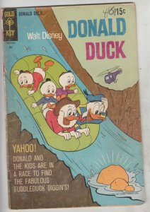 Donald Duck #125 (May-69) FN Mid-Grade Donald Duck