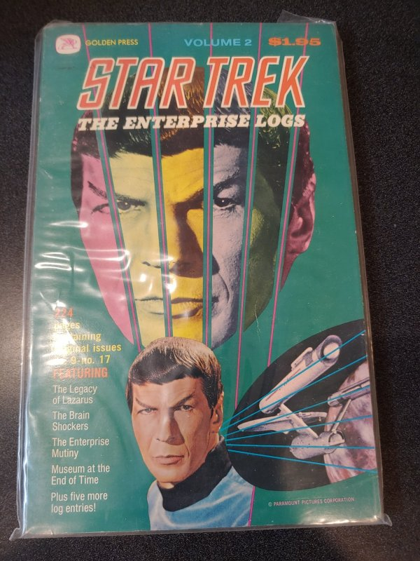Star Trek the Enterprise Logs, Volume 2, Golden Press 1976
