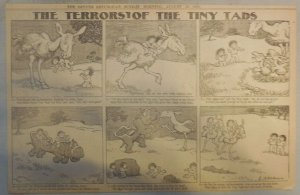 The Terrors of the Tiny Tads by Gustave Verbeek from 8/201905 Half Page Size!