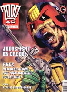2000 AD (1987 series) #752, VF- (Stock photo)