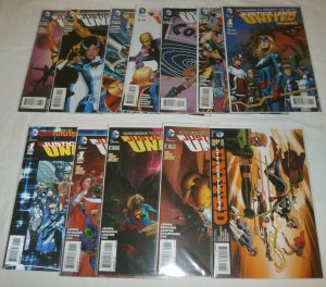 Justice League United   vol. 1   #1-9, Annual #1, FE + (set of 12)
