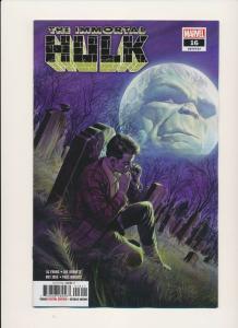 Marvel THE IMMORTAL HULK #16 June 2019 NM (PF764)