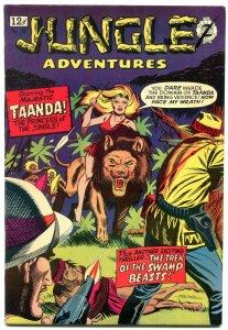 Jungle Adventures #18 1964- Golden Age Reprint White Princess VF