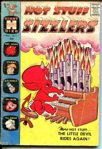Hot Stuff Sizzlers #1 1960-Harvey-1st issue-Giant Edition-Stumbo-VG-