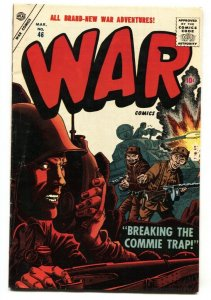 War Comics #46 1957- Atlas War- Maneely- Severin- Colan fn-