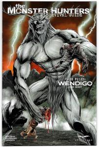 Monster Hunters Survival Guide Wendigo #1 Cvr B (Zenescope, 2017) NM