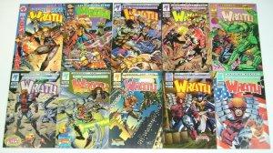 Wrath #1-9 VF/NM complete series + giant-size 1994 MALIBU ULTRAVERSE mike w barr