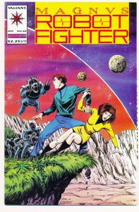 Magnus Robot Fighter (1991 Valiant) #20 VF